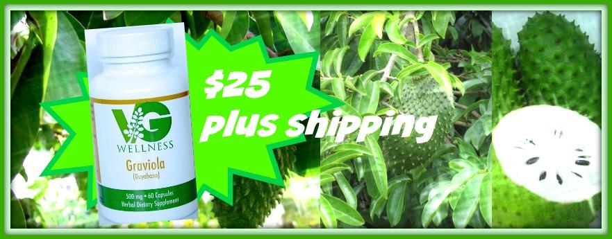 Graviola Plus Shipping Collage