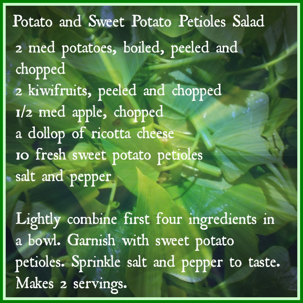 Potato and Sw Pot Pet Sal Recipe