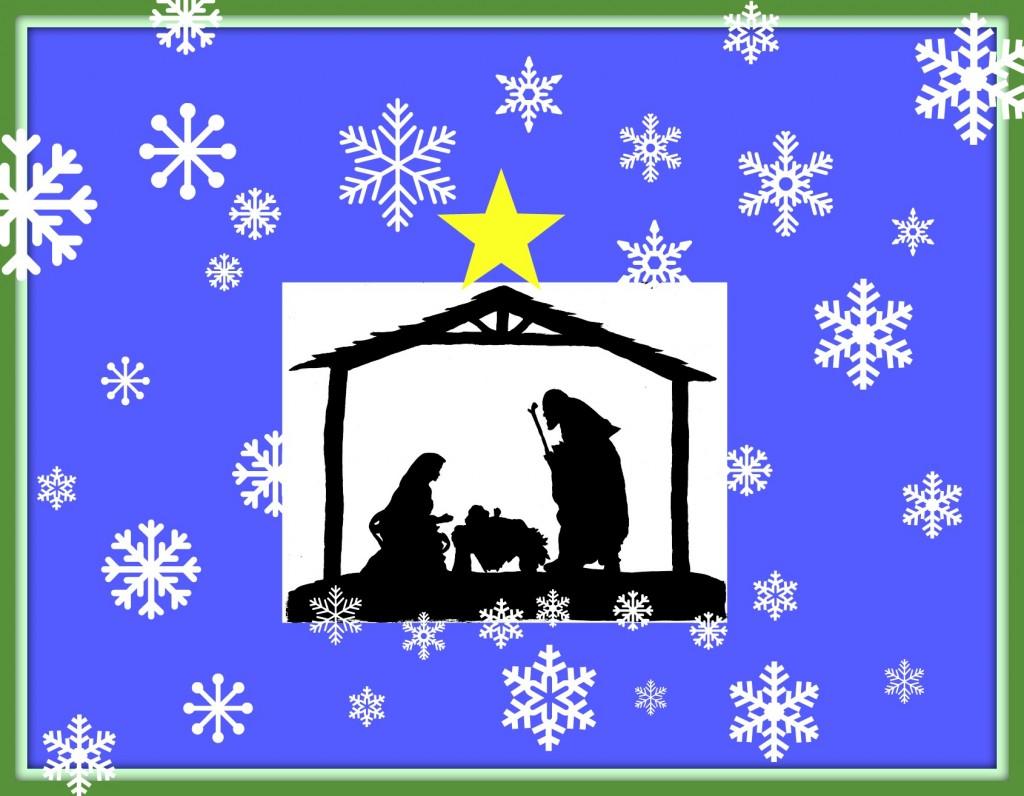 nativity sillohuette fr
